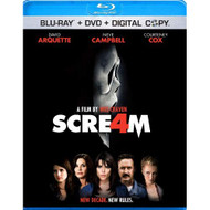 Scream 4 DVD Digital Copy On Blu-Ray With David Arquette - EE564787