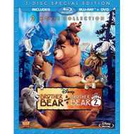 Brother Bear / Brother Bear 2 3-disc Special Edition Blu-Ray / DVD On - EE716892