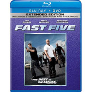 Fast Five Blu-Ray On Blu-Ray With Dwayne Johnson 5 - EE716908