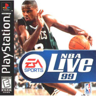 NBA Live 99 For PlayStation 1 PS1 Basketball - EE716917