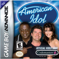 American Idol For GBA Gameboy Advance With Manual and Case - EE716947