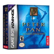 Peter Pan For GBA Gameboy Advance With Manual and Case - EE716945