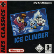 Ice Climber Classic NES Series For GBA Gameboy Advance With Manual and - EE716956