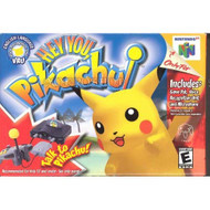 Hey You Pikachu! For N64 With VRU And Microphone Nintendo - EE717001