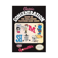 Classic Concentration For Nintendo NES Vintage - EE717020