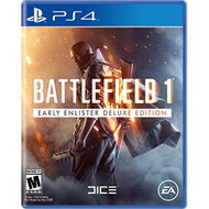 Battlefield 1 Early Enlister Deluxe Edition For PlayStation 4 PS4 - EE717092