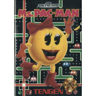 Ms Pac-Man For Sega Genesis Vintage Arcade With Manual and Case - EE717099