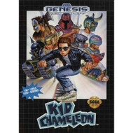 Kid Chameleon For Sega Genesis Vintage With Manual and Case - EE717095