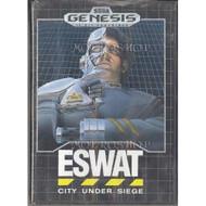 Eswat City Under Siege For Sega Genesis Vintage Shooter With Manual - EE717106