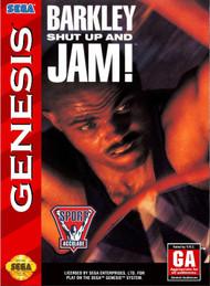 Barkley Shut Up And Jam! Basketball Vintage For Sega Genesis - EE717105