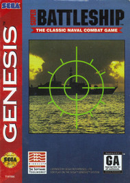 Super Battleship For Sega Genesis Vintage Strategy With Manual and - EE717113