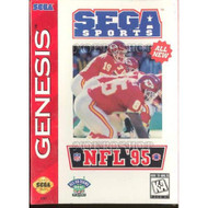 NFL '95 For Sega Genesis Vintage Football With Manual and Case - EE717117