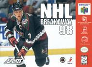 NHL Breakaway 98 For N64 Nintendo Hockey With Manual and Case - EE717126
