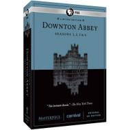 Masterpiece: Downton Abbey Seasons 1 2 3 4 On DVD With Hugh Bonneville - EE717161