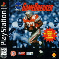 NCAA Gamebreaker For PlayStation 1 PS1 With Manual and Case - EE717337