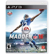 Madden NFL 16 For PlayStation 3 PS3 Football - EE717374