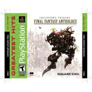 Final Fantasy Anthology PlayStation For PlayStation 1 PS1 RPG - EE717616