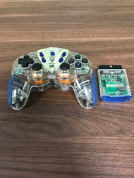 Infinite Play Wireless Controller For PlayStation 2 PS2 Clear Gamepad - EE717679