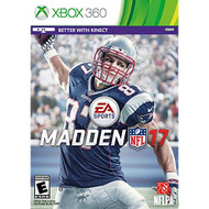 Madden NFL 17 Standard Edition For Xbox 360 Football - EE717887