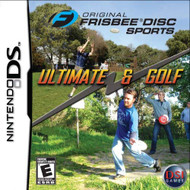 Original Frisbee Disc Sports: Ultimate And Golf For Nintendo DS DSi  - EE717934