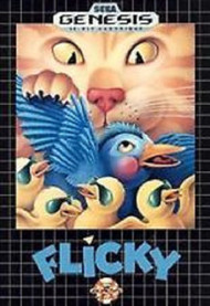 Flicky For Sega Genesis Vintage - EE718026