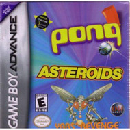 Asteroids/pong/yar's Revenge For GBA Gameboy Advance - EE718126