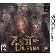 Zero Time Dilemma For Nintendo DS DSi 3DS 2DS With Manual and Case - EE718140