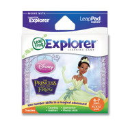 Leapfrog Explorer Disney The Princess And The Frog Learning Game For - EE718183