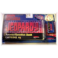 Jeopardy Answer/question Book And Cartridge #6 For Electronic LCD - EE718184