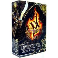 Pk Cards Trading Card Game The Broken Seal Grey Core Deck TCG Gray - EE718280