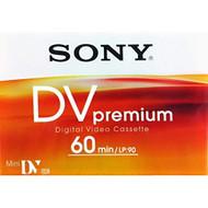 Sony DVM60PRL/1BP Premium Mini Digital Video Cassette Single - EE718337