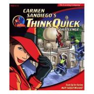 Carmen Sandiego Think Quick Challenge Software - EE718507