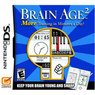 Brain Age 2: More Training In Minutes A Day! For Nintendo DS DSi 3DS  - ZZ718518