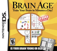 Brain Age: Train Your Brain In Minutes A Day! For Nintendo DS DSi 3DS  - ZZ718519