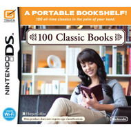 100 Classic Books For Nintendo DS DSi 3DS 2DS With Manual and Case - EE718631