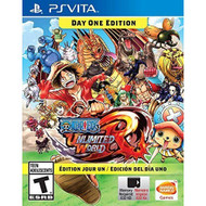 One Piece Unlimited World Red: Day 1 Edition Ps Vita For Ps Vita - EE718635