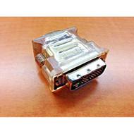 DVI-I Dual Link Male To HD15 Svga Female Adapter ATI 6140007200G VGA - EE718857