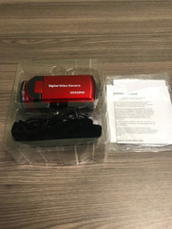 Digital Video Camera Dv 539HD Red Compact - EE719057