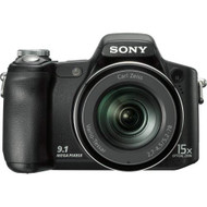 Sony Cyber-Shot DSCH50 9.1 MP Digital Camera With 15X Optical Zoom - EE719067