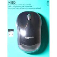 Logitech Wireless Mouse M185 Swift Grey Gray - EE719119
