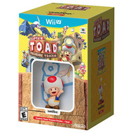Captain Toad: Treasure Tracker Game And Toad Amiibo For Wii U - EE719187