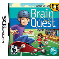 Brain Quest: Grades 5 And 6 For Nintendo DS DSi 3DS 2DS Board Games - EE719274