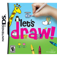 Let's Draw! For Nintendo DS DSi 3DS 2DS With Manual and Case - EE719278