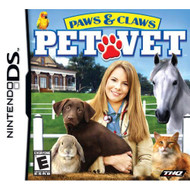 Paws And Claws: Pet Vet For Nintendo DS DSi 3DS 2DS With Manual and - EE719279