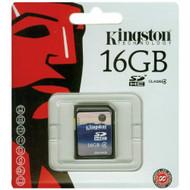 Kingston 16 GB Class 4 SDHC Flash Memory Card SD4/16GB - EE719545