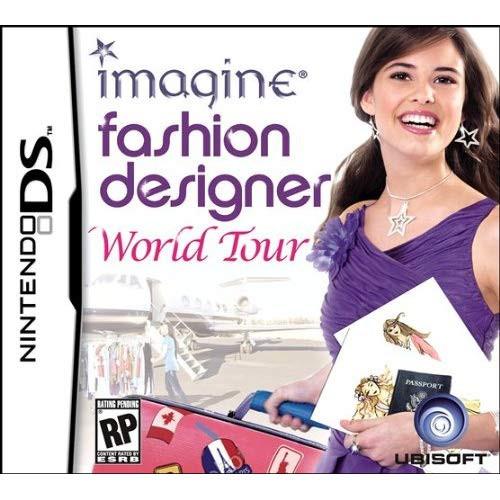 Imagine Fashion Designer World Tour Nds For Nintendo Ds Dsi 3ds 2ds