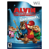 Alvin And The Chipmunks: The Squeakquel For Wii With Manual and Case - RR434116