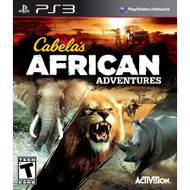 Cabela's African Adventures For PlayStation 3 PS3 Shooter - EE620373