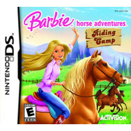 Barbie Horse Adventures: Riding Camp For Nintendo DS DSi 3DS RPG - EE587080