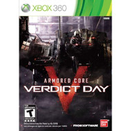 Armored Core: Verdict Day For Xbox 360 Shooter - EE719617
